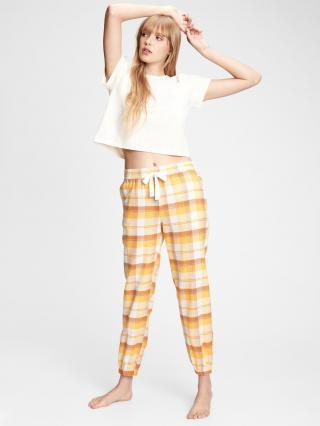 Farebné dámske pyžamo GAP dámské oranžová XS