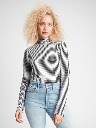 Farebné dámske tričko GAP čierna M