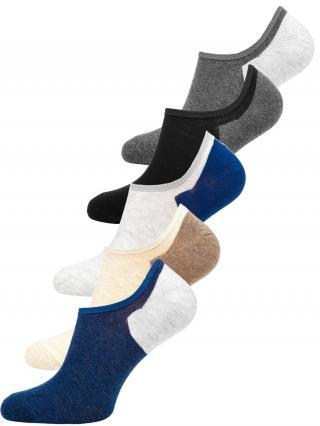 Farebné pánske ponožky Bolf  X10170-5P 5 PACK 44-46