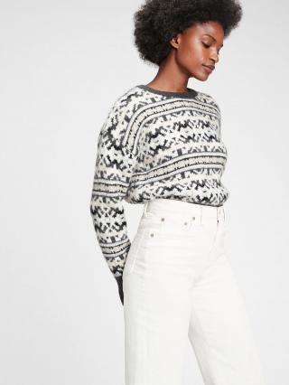 Farebný dámsky sveter GAP dámské čierna XXS