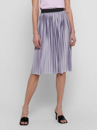 Fialová plisovaná sukňa Jacqueline de Yong Boa dámské L