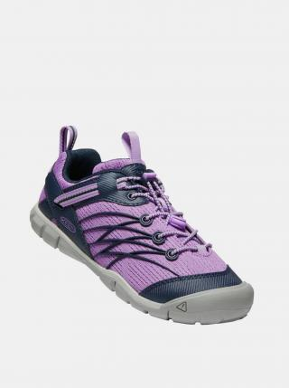 Fialové dievčenské tenisky Keen fialová 34