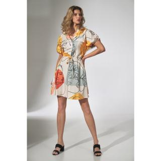 Figl Womans Dress M739 dámské Pattern 123 S