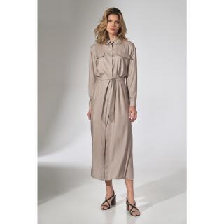 Figl Womans Dress M740 dámské Beige S