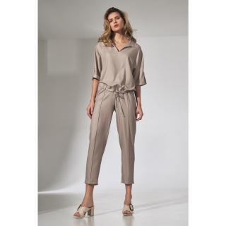 Figl Womans Pants M743 dámské Beige S