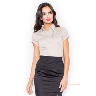 Figl Womans Shirt M026 dámské Beige XL
