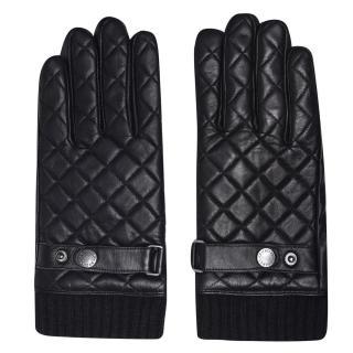 Firetrap Leather Gloves Mens pánské Other L
