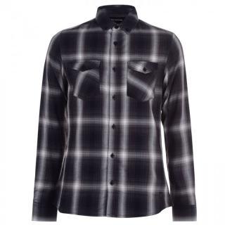 Firetrap Long Sleeve Check Shirt Mens pánské No color   Other S