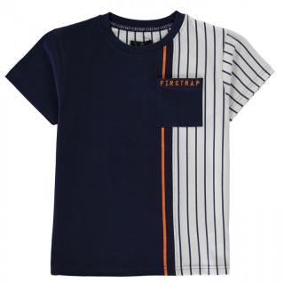 Firetrap Short Sleeve T-Shirt Junior Boys pánské Other 7-8 Y