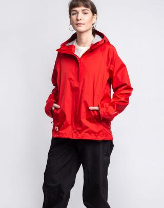 Fjällräven High Coast Hydratic Jacket W 334 True Red S dámské Červená S