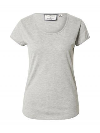 Fli Papigu Tričko Habiba Bella  sivá melírovaná dámské XL