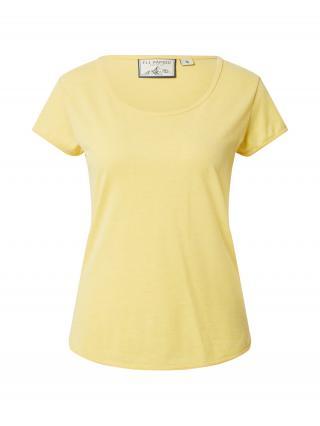 Fli Papigu Tričko Habiba Bella  žltá melírovaná dámské L