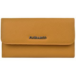 FLORA & CO Dámska peňaženka K1218 Moutarde dámské žltá