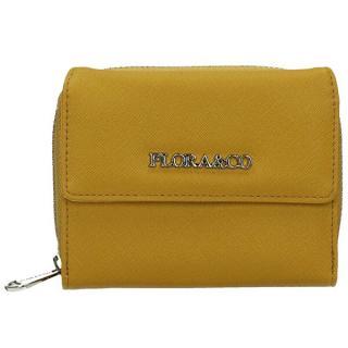 FLORA & CO Dámska peňaženka K6011 Moutarde dámské žltá