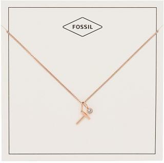 Fossil Bronzový náhrdelník T JF03045791