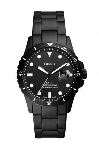 Fossil - Hodinky FS5659 pánské čierna ONE SIZE