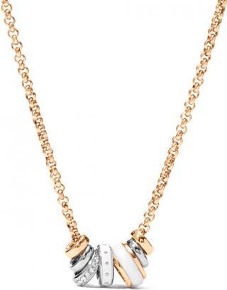 Fossil Oceľový náhrdelník pre ženy JF01122998