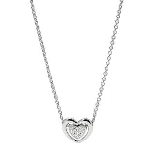 Fossil Romantický dámsky náhrdelník so srdcom JFS00300040
