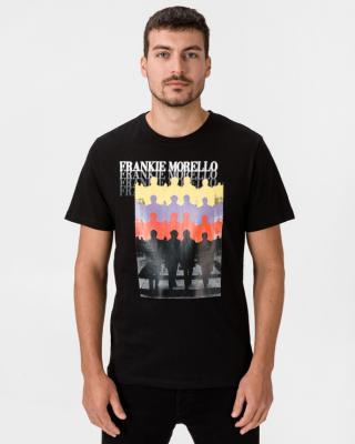 Frankie Morello Tričko Čierna pánské XXL