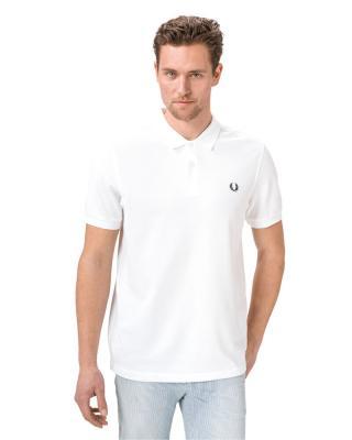 Fred Perry Polo tričko Biela pánské L