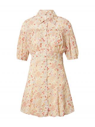 Free People Košeľové šaty BONNIE  zmiešané farby / biela dámské 34