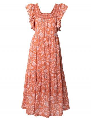 Free People Letné šaty  biela / oranžová dámské 36