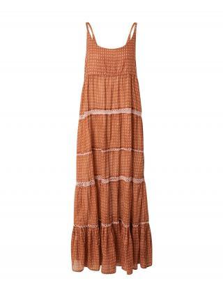 Free People Letné šaty  karamelová / pastelovo ružová dámské 36