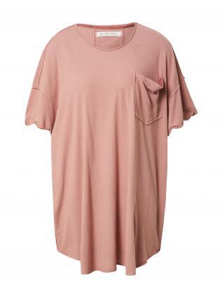 Free People Oversize tričko TAKE IT EASY  staroružová dámské S