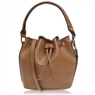 Full Circle Studded Bag Ladies Other One size