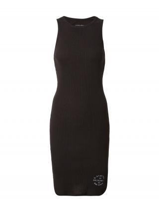 G-Star RAW Šaty  čierna / biela dámské 36