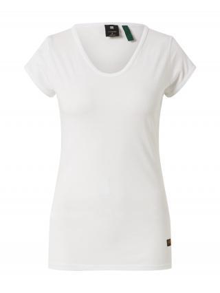 G-Star RAW Tričko Core Eyben  biela dámské XS