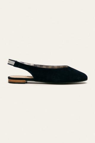 Gant - Kožené balerínky Bellplace dámské tmavomodrá 37