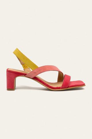 Gant - Kožené sandále Alabasta dámské ružová 39