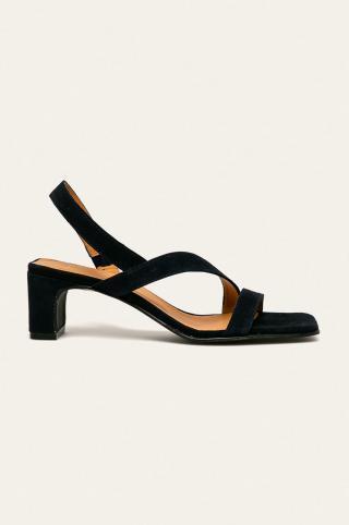 Gant - Kožené sandále Alabasta dámské tmavomodrá 36