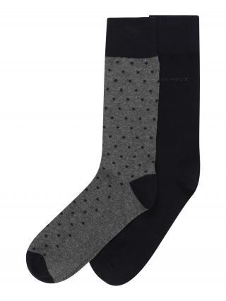 GANT Ponožky  sivá / námornícka modrá pánské 41-46