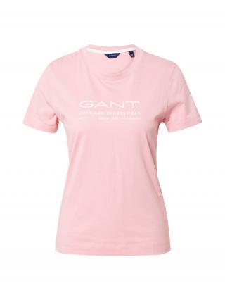 GANT Tričko  ružová / biela dámské S