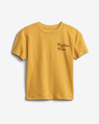 GAP Gen Good Graphic Tričko detské Oranžová pánské 4 roky
