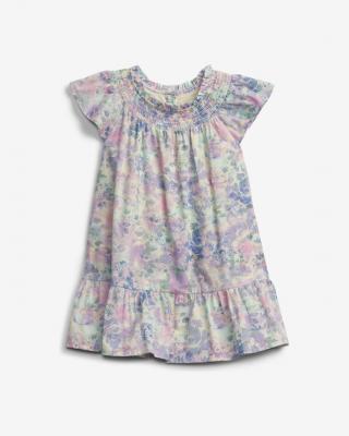 GAP Smock Collar Šaty detské Viacfarebná dámské 3 roky