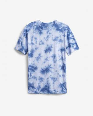 GAP Tie-Dye Tričko detské Modrá dámské XXL