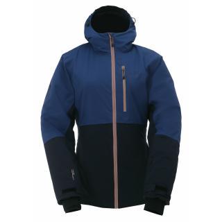 GÄRDET - ECO dámská lehce zateplená lyžařská bunda - navy dámské Neurčeno XS