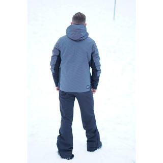GÄRDET - ECO pánská lehce zateplená lyžařská bunda - aop pánské Neurčeno L