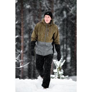 GÄRDET - ECO pánské lehce zateplené lyžařské kalhoty - black pánské Neurčeno One size