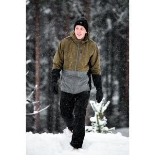GÄRDET - ECO pánské lehce zateplené lyžařské kalhoty - navy pánské Neurčeno One size