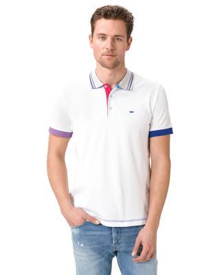 GAS Ralph/S Polo Tričko Biela pánské M