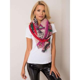 Geometric red scarf dámské Neurčeno One size