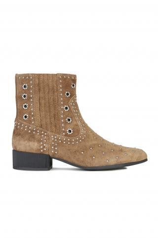 Geox - Členkové topánky dámské hnedá 36