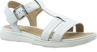GEOX Dámske sandále D Sandal Hiver White D02GZB-00043-C1000 38 dámské