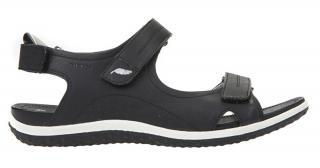 GEOX Dámske sandále D Sandal Vega Black D52R6A-000EK -C9997 37 dámské