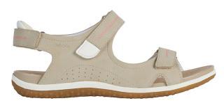 GEOX Dámske sandále D Sandal Vega Taupe D52R6A-000EK -C6029 38 dámské