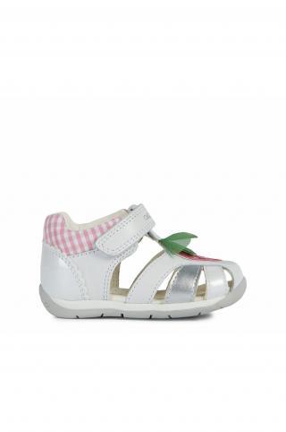Geox - Detské topánky biela 25